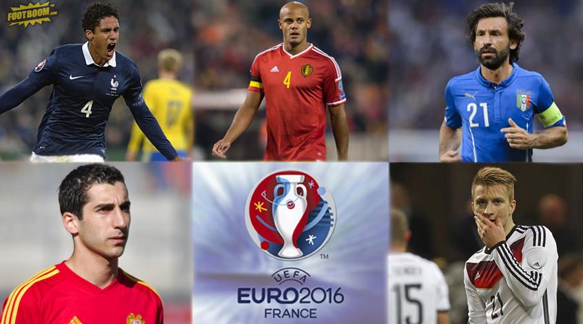Топ-11 звезд, которых мы не увидим на Евро-2016