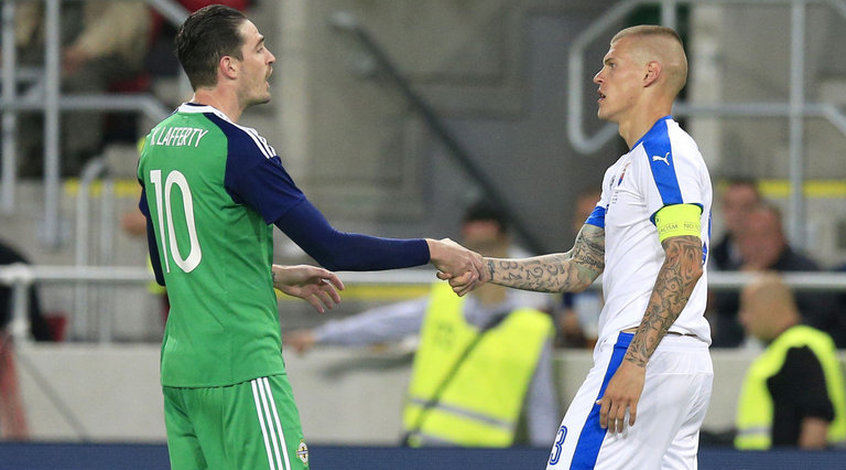 Словакия - Северная Ирландия 0:0. Сбитый прицел словаков