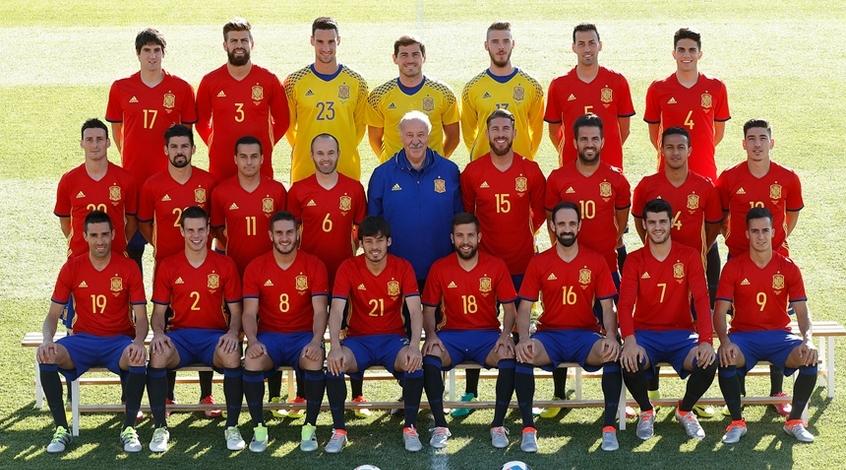 FootBoom представляет: сборная Испании на Евро 2016
