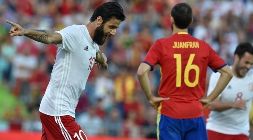 Испания - Грузия 0:1. Сражались цепкие грузины