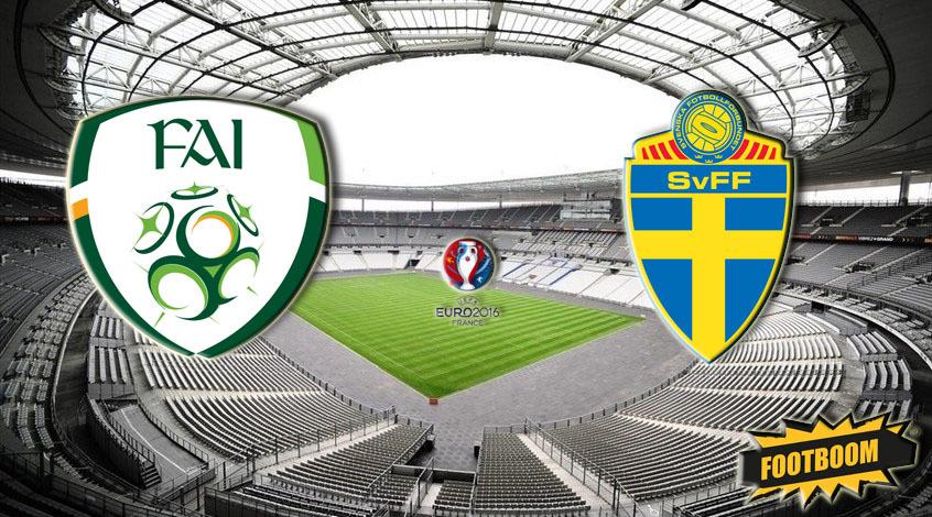 Ирландия - Швеция: стартовые составы