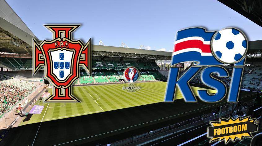 Португалия - Исландия 1:1. Северный замок