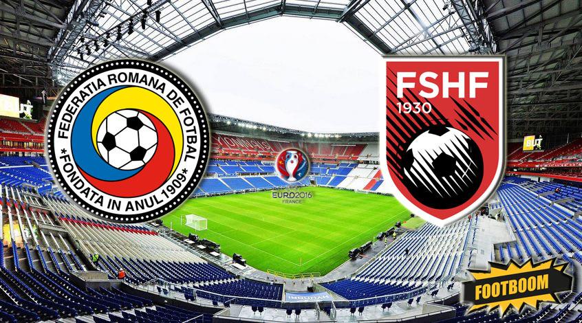 Румыния - Албания 0:1. Аголли Попу