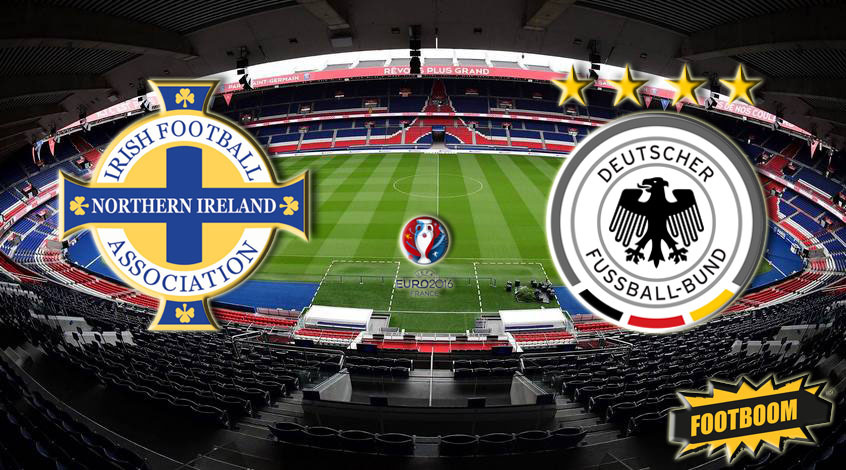 Северная Ирландия – Германия 0:1. Месут вОзил…