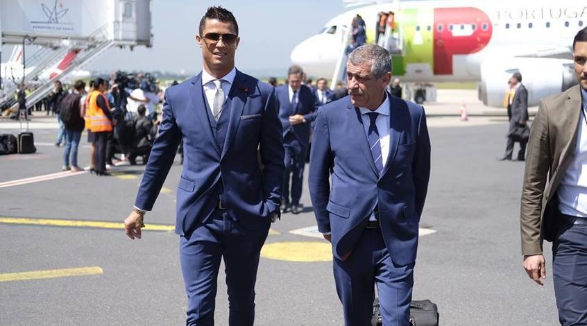 """Фернанду Сантуш: """"Мы договорились с Роналду, что он пока не получит вызова в сборную"""""""