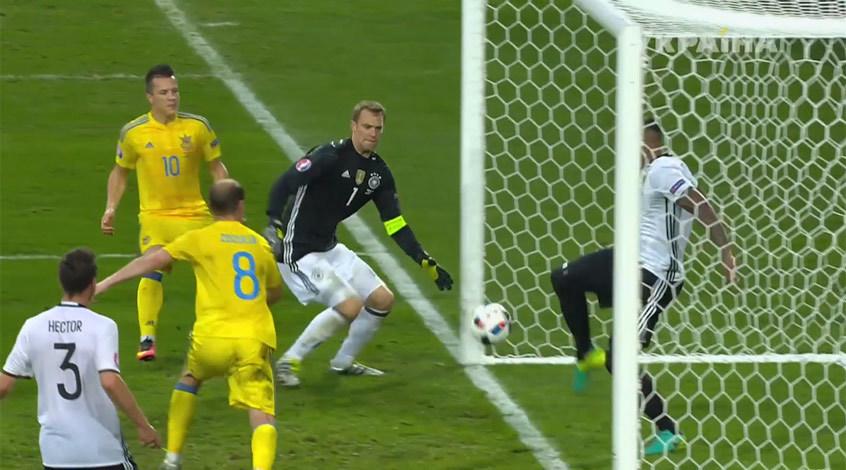 Германия - Украина 2:0. Не время для чудес