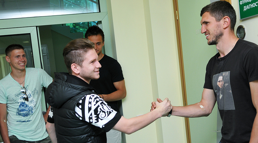 """Как ""Шахтер"" проходил медосмотр"" (+ Фото)"