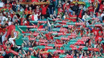 Евро-2016. Церемония награждения Португалии