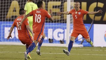 Сборная Чили - победитель Копа Америка Сентенарио