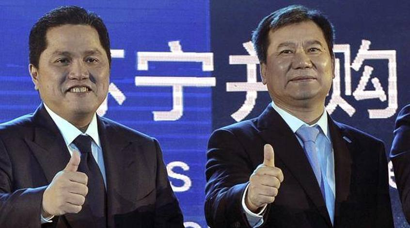 """""""Интер"""": после продажи клуба китайцам капитал клуба увеличился на 142 миллиона евро"""