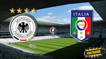 Евро-2016. Германия - Италия 1:1 (6:5 по пенальти). Проклятие сняли (Видео)