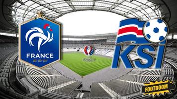 Франция - Исландия: стартовые составы