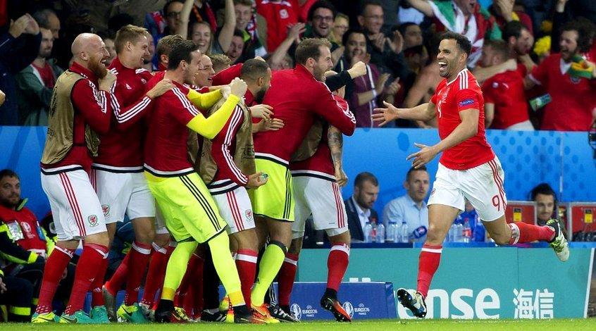 Уэльс - Бельгия 3:1. Поцелуй дракона