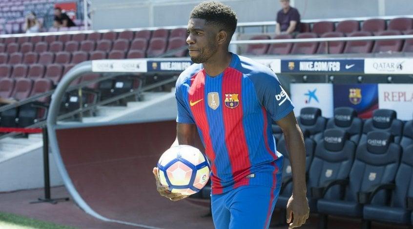 """Официально: Самюэль Умтити продлил контракт с """"Барселоной"""" до 2023 года"""