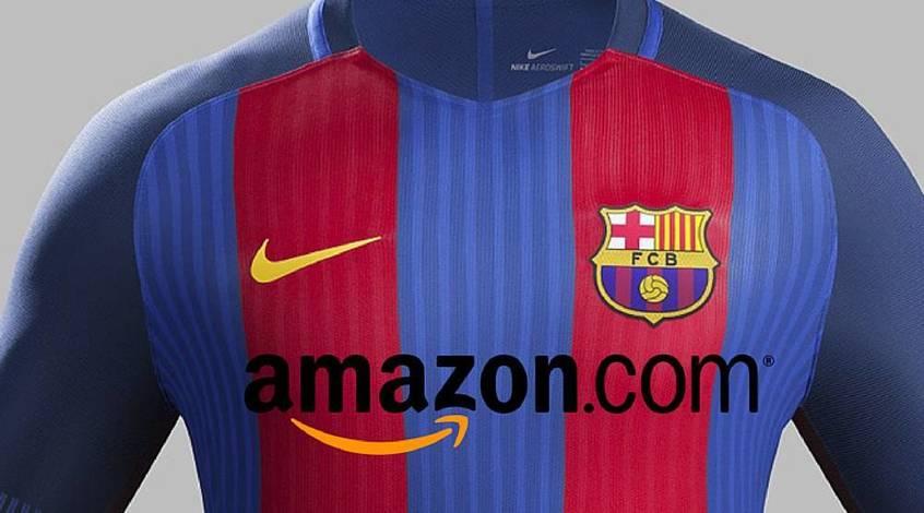 """AS: титульным спонсором """"Барселоны"""" станет Amazon"""
