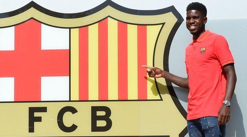 """""""Барселона"""" провела переговоры с Самуэлем Умтити о продлении контракта"""