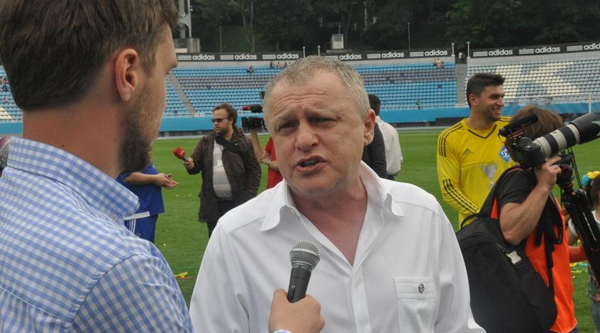 """Игорь Суркис: """"Мы ни по одному игроку пока не имеем предложений"""""""