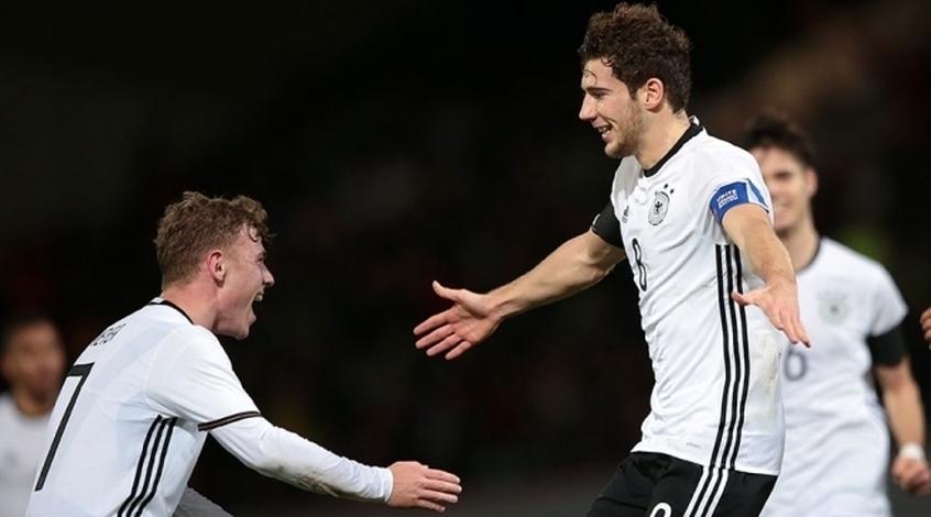 Леон Горецка: я буду капитаном сборной Германии на Олимпиаде, и очень волнуюсь