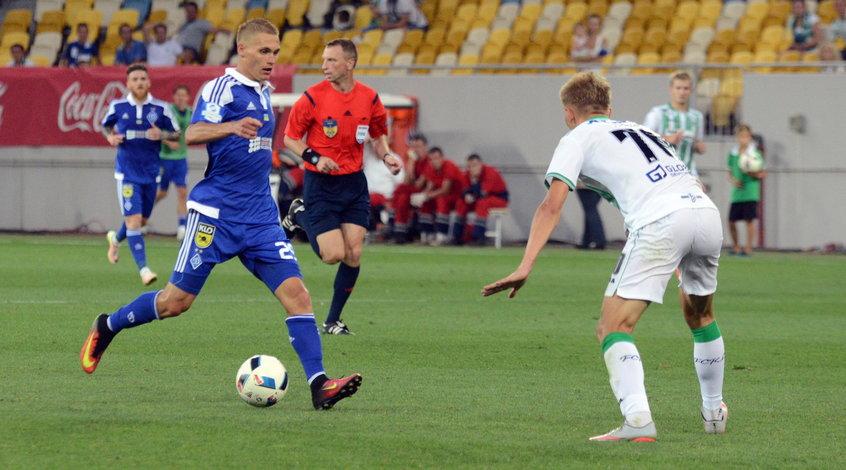 Динамо вдомашнем матче обыграло Ворсклу