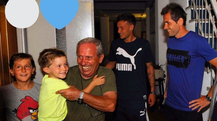 """Футболисты и президент """"Лацио"""" устроили сюрприз 11 болельщикам (+Фото)"""