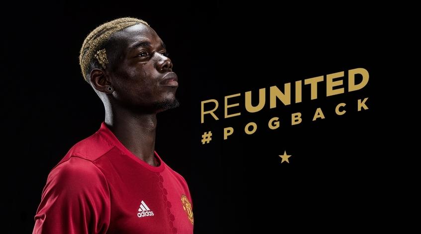 """Официально: """"Манчестер Юнайтед"""" покупает Погба за 105 млн. евро (+Видео)"""