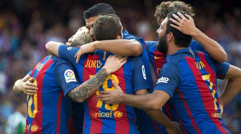 """Чемпионский старт """"Барселоны"""""""
