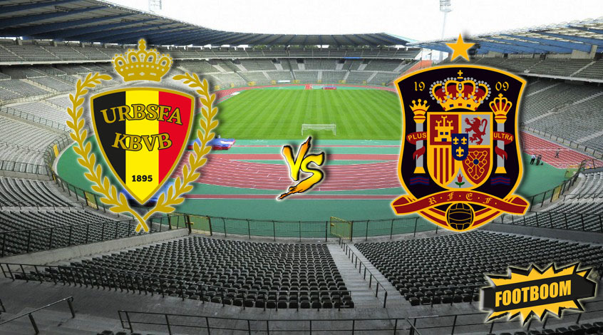 Бельгия - Испания: букмекеры считают, что шансы команд на победу равны