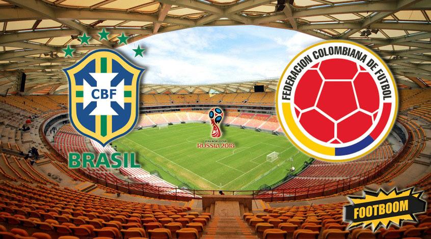 Отбор к ЧМ-2018. Бразилия - Колумбия. Анонс и прогноз матча
