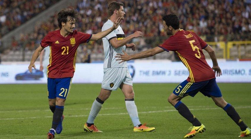 Бельгия - Испания 0:2. Успешный дебют Лопетеги