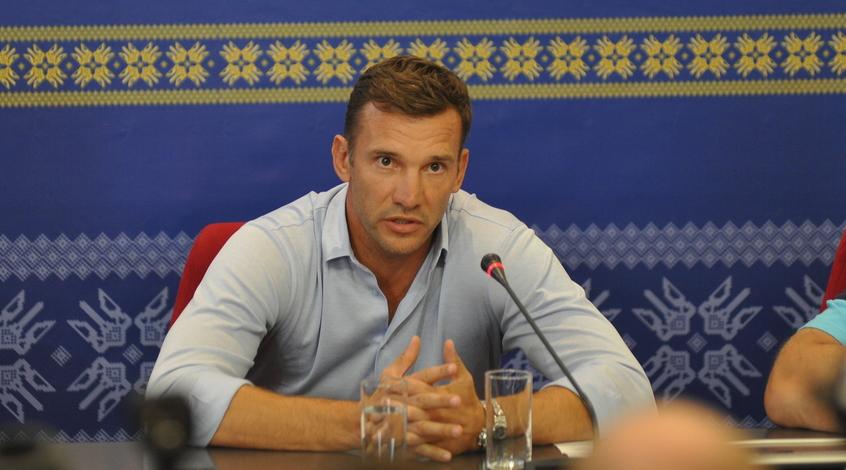 Украина - Исландия: предматчевая пресс-конференция Андрея Шевченко