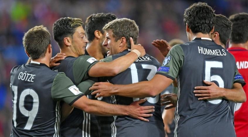Норвегия - Германия 0:3. Wie Schoen!