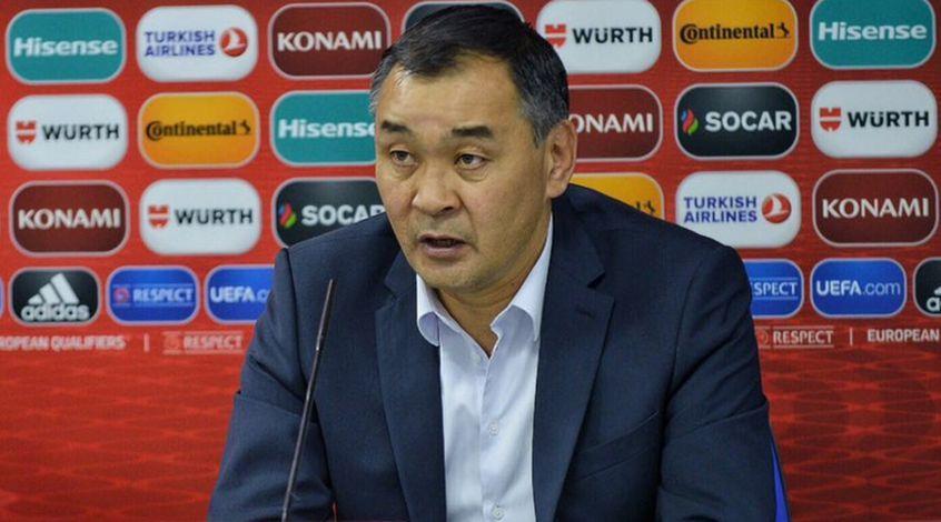 Сборную Казахстана официально возглавил Талгат Байсуфинов