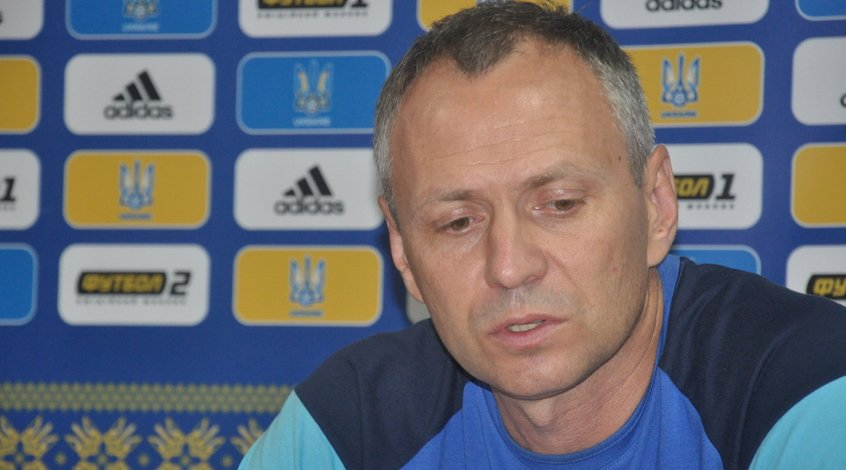 Украина U-21 - Шотландия U-21: предматчевая пресс-конференция Александра Головко