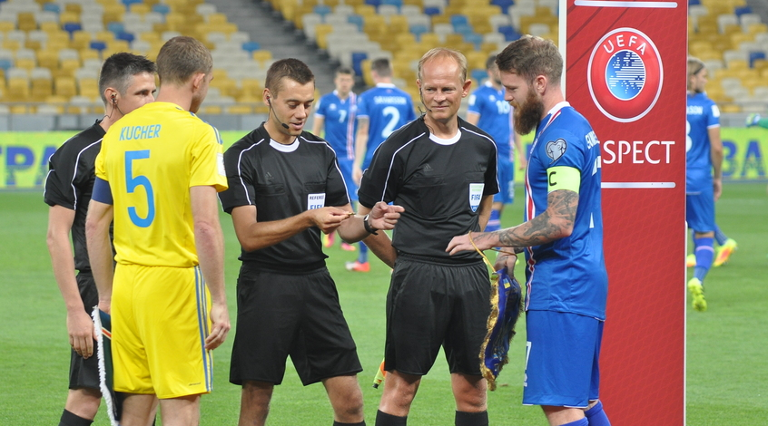 Кучер выведет сборную Украины на матч с капитанской повязкой