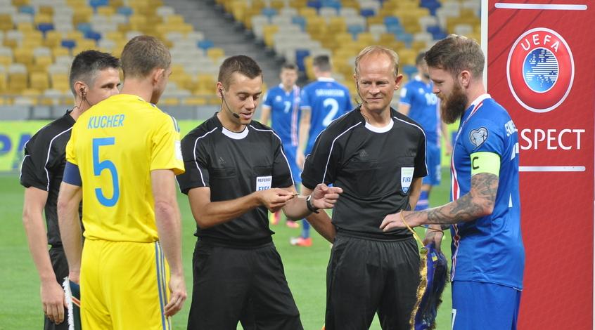 """Арон Гуннарссон: """"Я бы ни за что не назвал украинскую сборную неудачниками"""""""