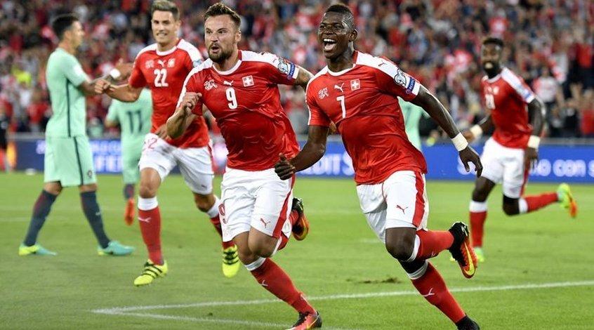 Швейцария - Португалия 2:0. А король-то голый!