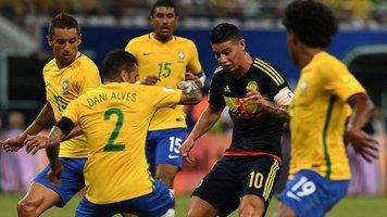 Бразилия - Колумбия 2:1. Тите вам не это
