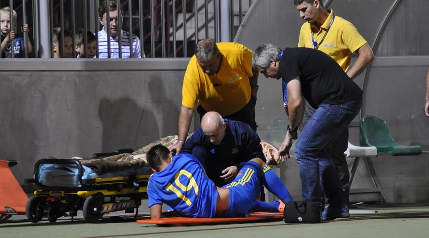 Марьян Швед получил травму колена