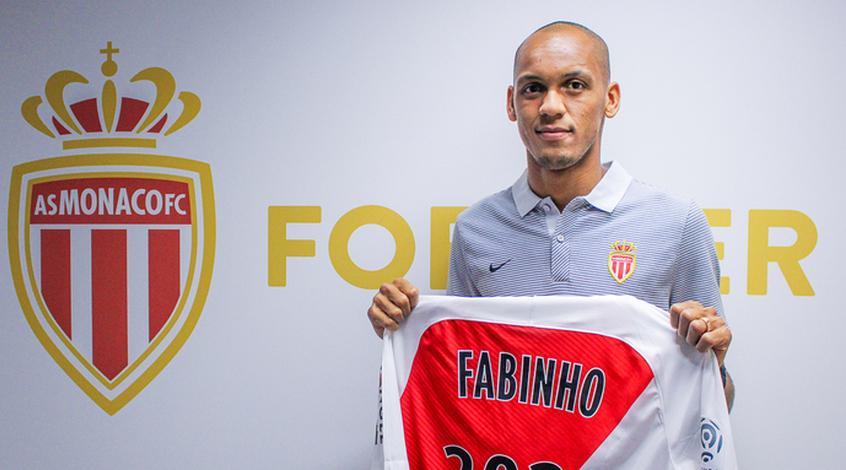 """Официально: Фабиньо продлил контракт с """"Монако"""" до 2021 года"""