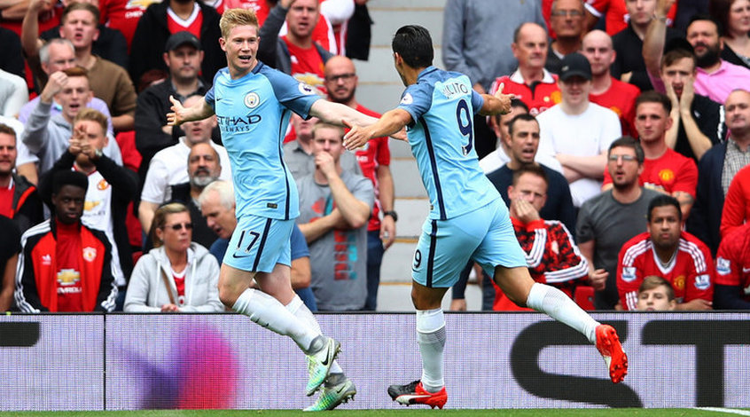 """Манчестер Юнайтед"" - ""Манчестер Сити"" 1:2. Ошибка Моуриньо"