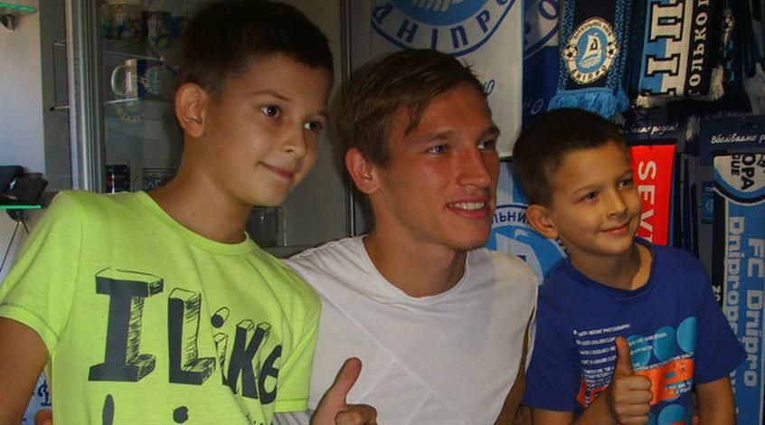 Валерий Лучкевич встретился с болельщиками