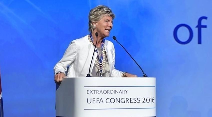 Эвелина Кристиллин избрана в Совет ФИФА