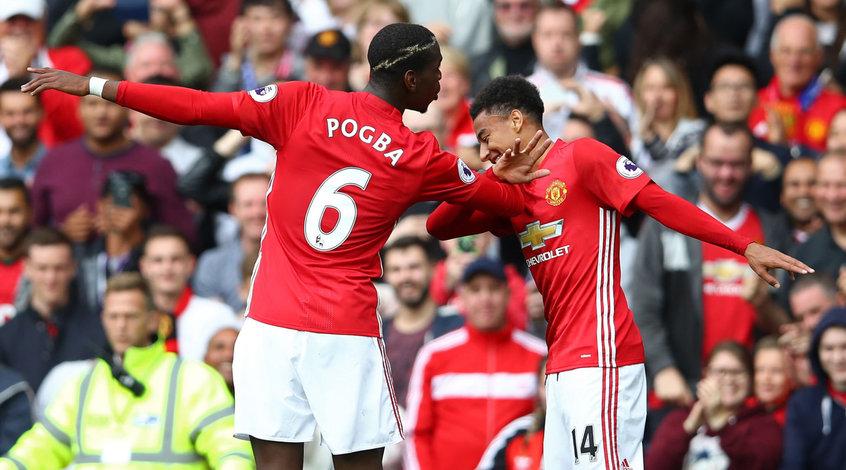 """""""Манчестер Юнайтед"""" - """"Лестер"""" 4:1. Нет Руни - есть голы"""