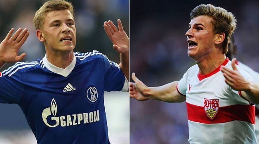 Тимо Вернер и Макс Майер провели 100-е матчи в бундеслиге