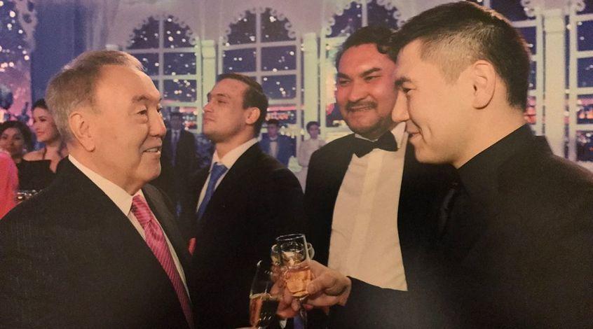 Айсултан Назарбаев – вице-президент ФФК