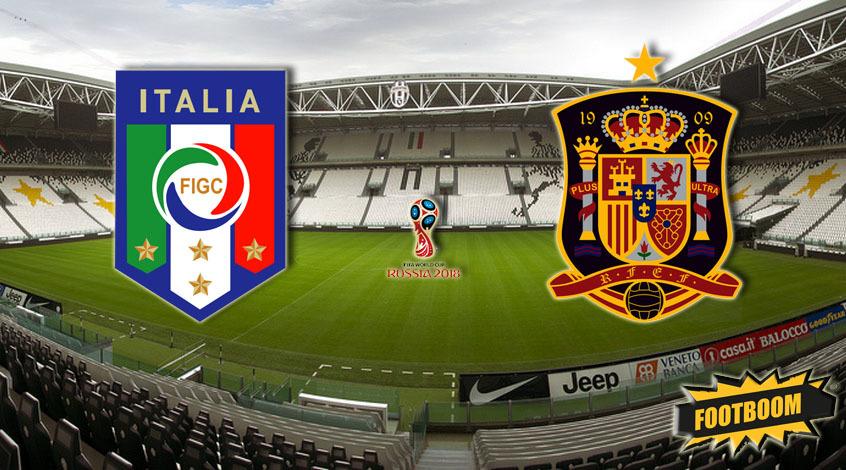 прогноз матча италия и испания