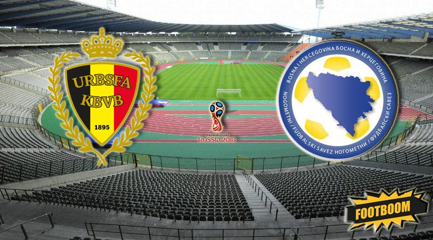 Бельгия - Босния и Герцеговина. Анонс и прогноз матча