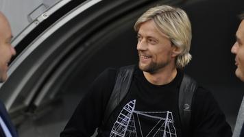 Анатолий Тимощук встретил легенду немецкого футбола (+Фото)