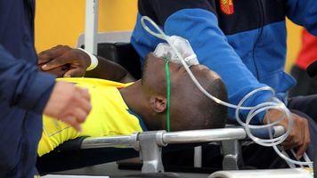 Эннер Валенсия прикинулся травмированным, чтобы избежать ареста прямо на поле (+Видео)