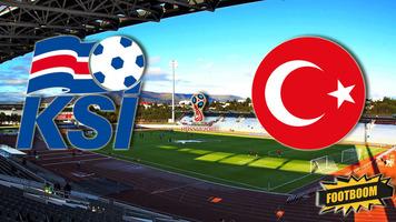 Отбор к ЧМ-2018. Исландия - Турция 2:0. Двойной удар перед перерывом (Видео)
